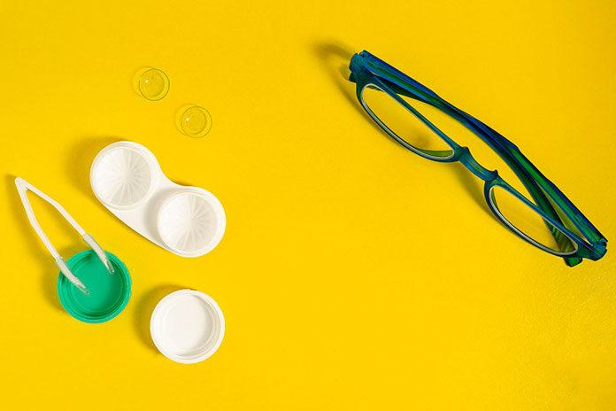soczewki zamiast okularów